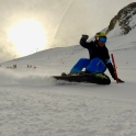 entraînement snowboard B.E ski alpin