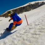 stage entraînement snowboard bank slalom