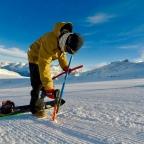 bank slalom entrainement DE ski alpin