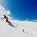 entraînement snowboard Bank slalom