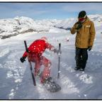 snowboard bank slalom