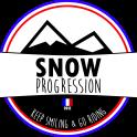 snow progression